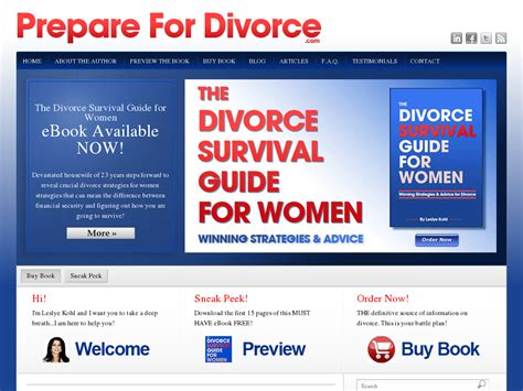 [pdf]  The Divorce Survival Guide For Women - Brand New Product .