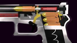 how do semi auto handguns work