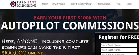 (reviewed) Earn Easy Commissions - Is $100k Doable?.