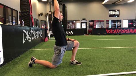 1 \/2 kneeling hip flexor stretch youtube sciatica heal dr