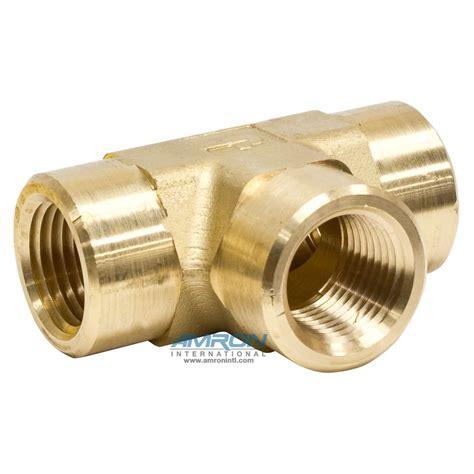 Brass 1 2 Npt Tee Brass.