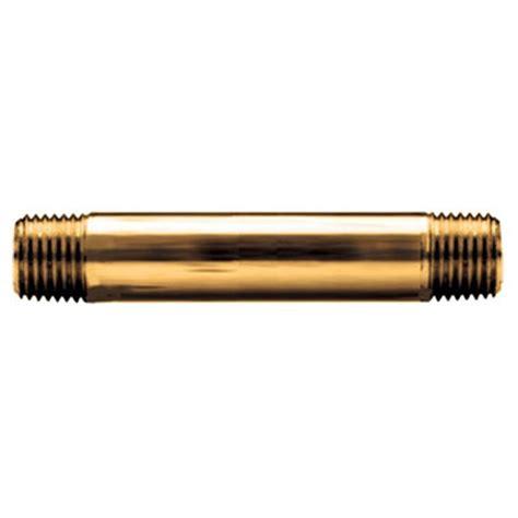Brass 1 4 Brass Nipple.