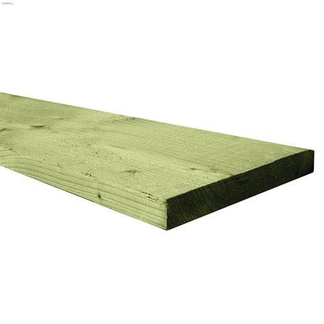 1 X 8 Treated Lumber