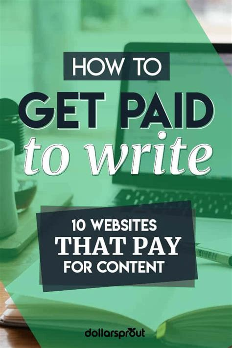 10 Best Places To Get Paid To Write - Reviews, Stories, Poetry & More.