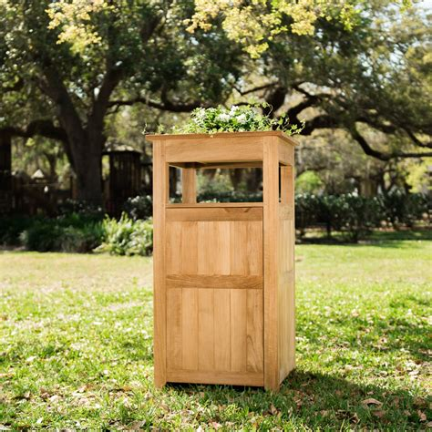 10 Best Trash Recptacles  Teak Laundry Towers Images .