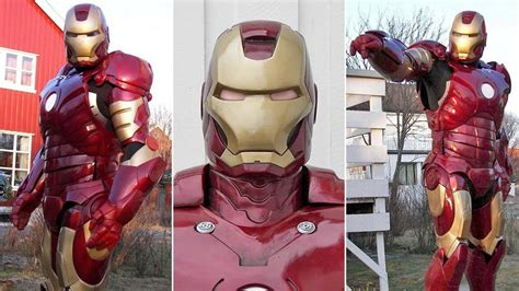 10 Diy Iron Man Suits That Give Tony Stark A Run For His Money.