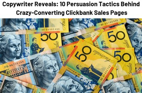 10 Persuasion Tactics Behind Crazy-Converting Clickbank Sales.