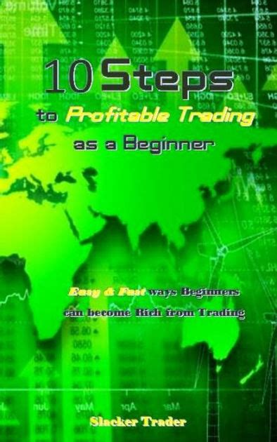 10 Steps To Profitable Trading As A Beginner By Slacker Trader.