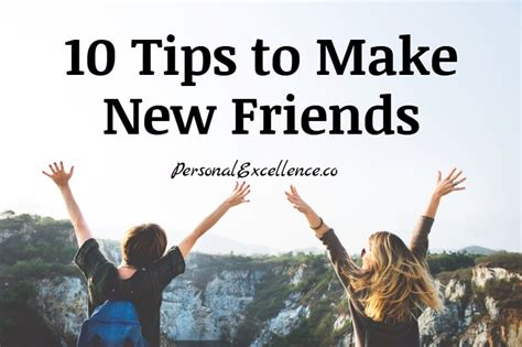 [click]10 Tips To Make New Friends  Personal Excellence.