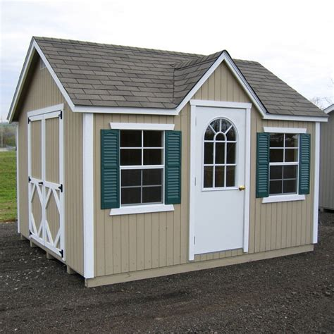 10 X 10 Wood Shed