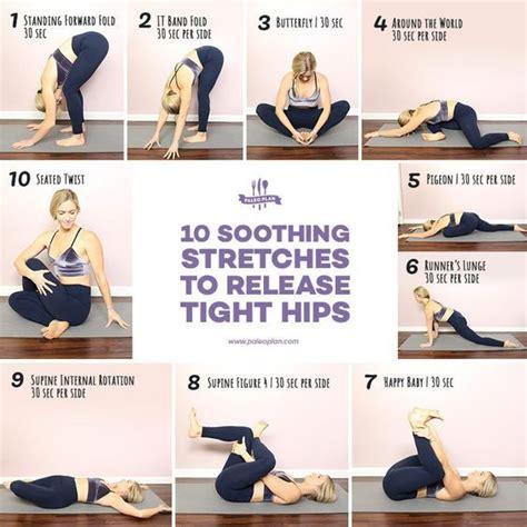 10 step hip flexor release stretches for hip