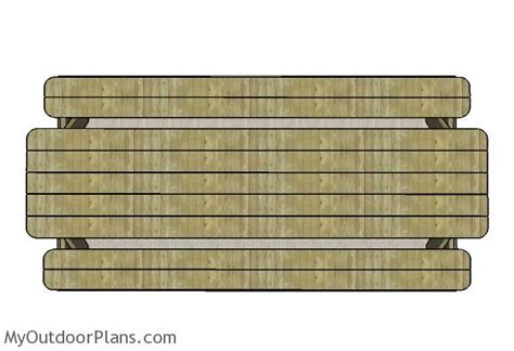 10 Foot Long Picnic Table Plans