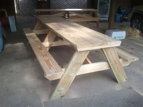 10 Foot Picnic Table Plands