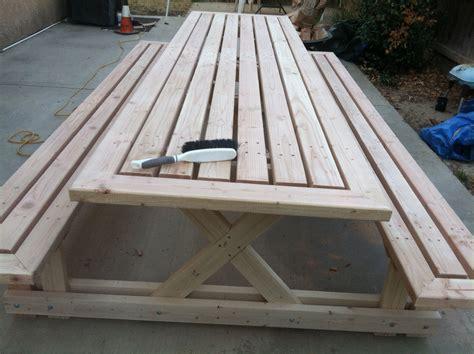 10 Foot Picnic Table Plandsm