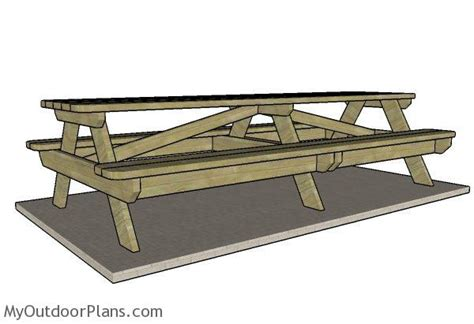 10 Foot Picnic Table Plans