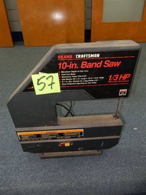 10 In Band Saw