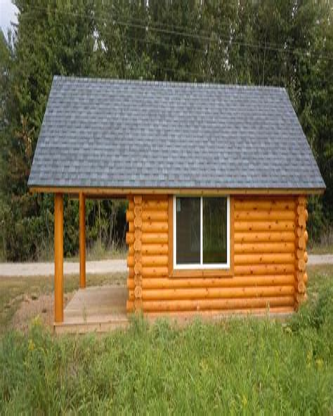 10 X 12 Cabin Plans