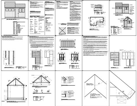 10 X10 Free Wooden Shed Plans
