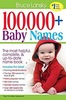[pdf] 100 000 Baby Names The Most Complete Baby Name Book.