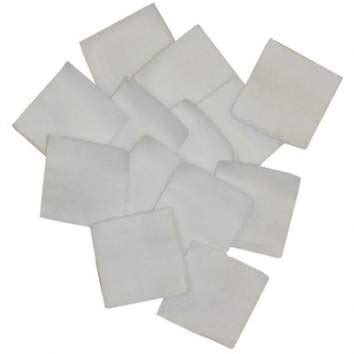 100 Cotton Flannel Bulk Cleaning Patches 1 - Brownells It.