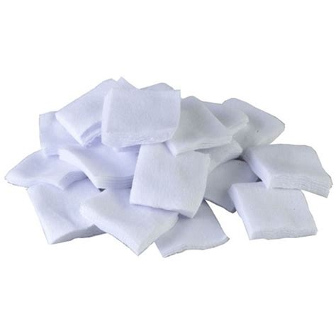100 Cotton Flannel Bulk Cleaning Patches 1-3 - Brownells.