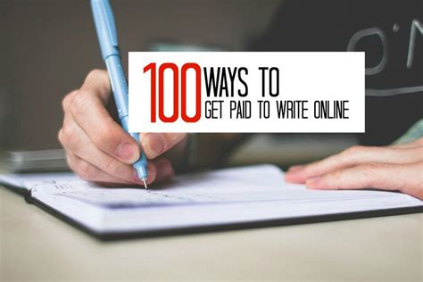 100 Work From Home Writing Jobs - Real Ways To Earn.