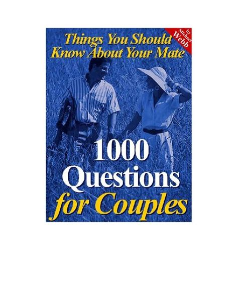 @ 1000 Questions For Couples That You  - Relationship Advice.