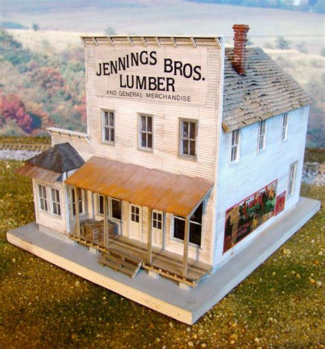 107 Best Cardstock Train Buildings Images Model Building, Scale.