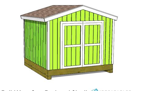 10x10 Wood Shed Plans Free