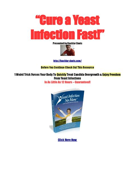[pdf] 12 Hour Cure For Yeast Infection .