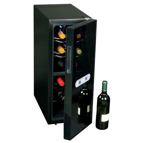 12 Bottle Dual Zone Freestanding Wine Cooler