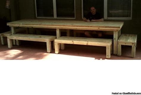 12 Foot Picnic Table for Sale