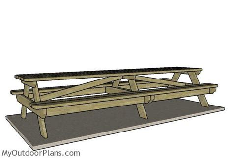 12 Foot Picnic Table Plans