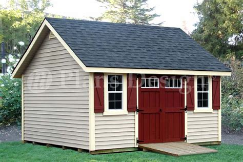 12 X 12 Shed Plans Free