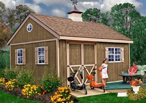 12 X 16 Wood Shed Plans Free