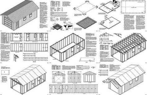 12 X 24 Garage Plans