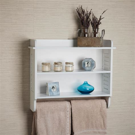12.8 W Bathroom Shelf