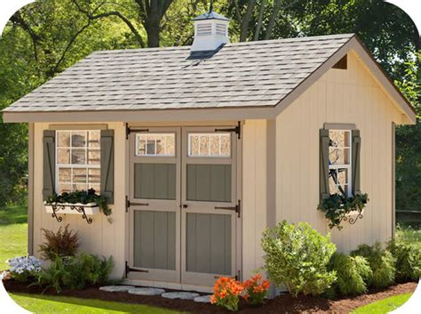 12x16 Wood Shed Kits