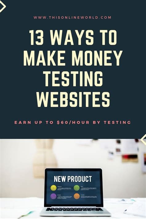 13 Ways To Make Money Testing Websites & Games - This Online.