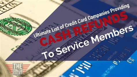 Credit Card Cash Advance Usaa 13 Credit Card Companies That Provide Cash Refunds To