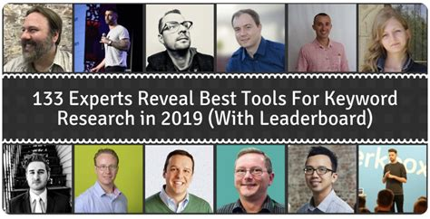 133 Experts Reveal Best Keyword Research Tool For Seo In 2019.