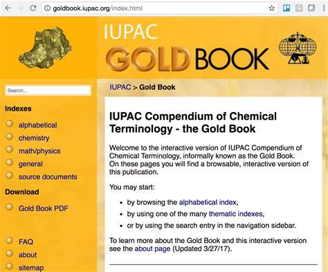 1351 Iupac Gold Book