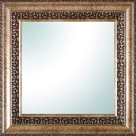 14 X 14 Bronze Ornate Square Mirror - Walmart Com.