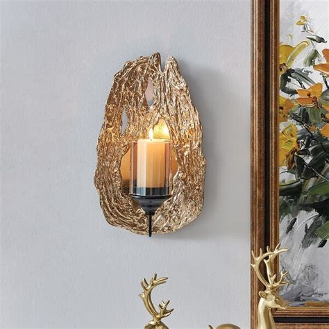15 Best Powder Room Images  Candle Sconces Candle Wall .