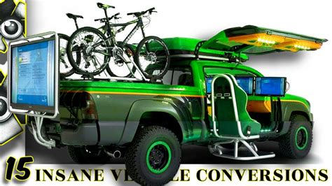 @ 15 Insane Vehicle Conversions You Won T Believe.