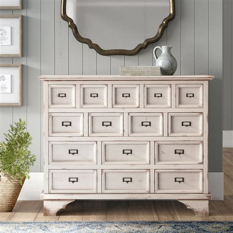 15 Drawers Accent Chest