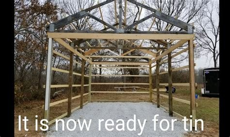 16 X 24 Pole Barn Plans