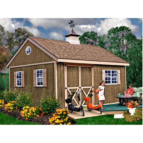 16x12 Shed