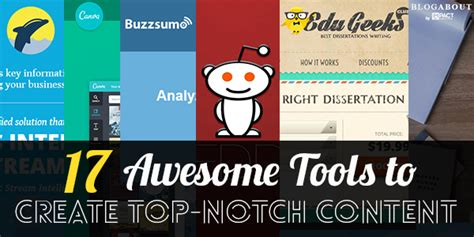 17 Awesome Tools To Create Top-Notch Content - Seo Hacker