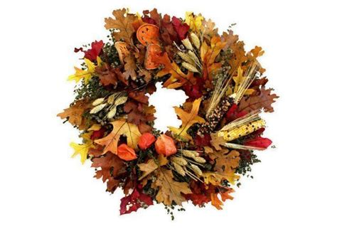 18 Corn  Millet Wreath Dried  Work 1  Wreaths Fall .